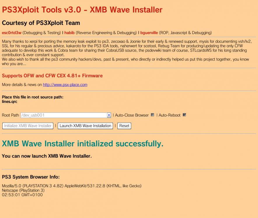 PS3Xploit Tools v3.0 - XMB Wave Installer_1.png
