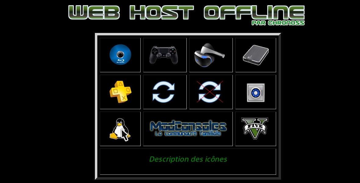 [EXCLU] Web Host Offline : utilisez votre PS4 sans internet