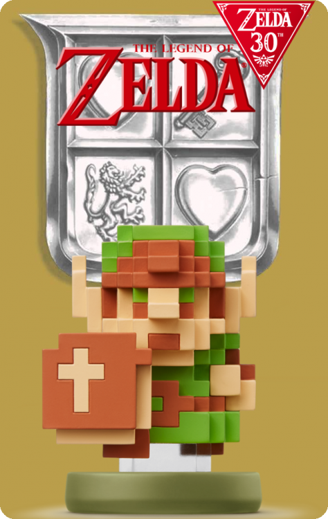 The Legend Of Zelda 30th Anniversary - Link 8-Bit.png