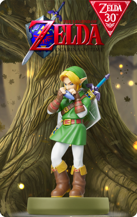 The Legend Of Zelda 30th Anniversary - Link Ocarina Of Time.png