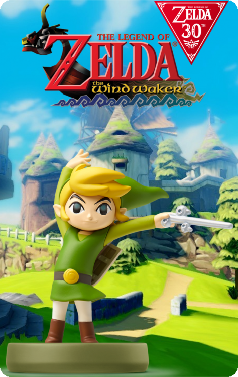 The Legend Of Zelda 30th Anniversary - Link The Wind Waker.png