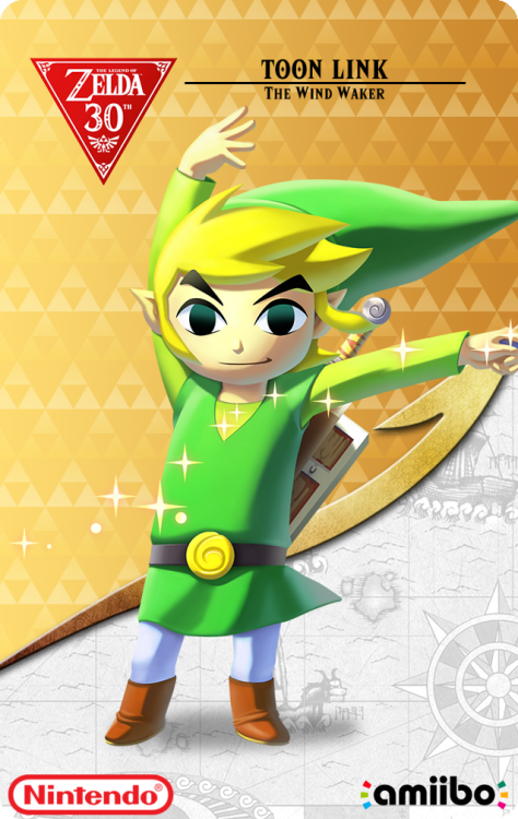 The Legend Of Zelda 30th Anniversary - Link The Wind WakerBack.png
