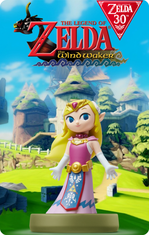 The Legend Of Zelda 30th Anniversary - Zelda The Wind Waker.png