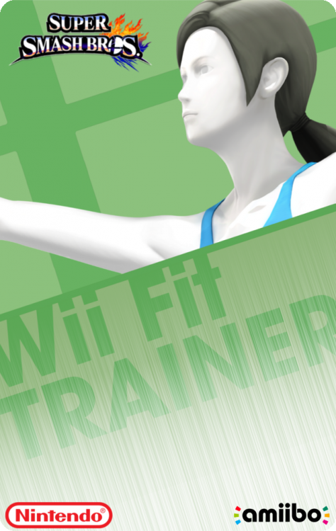 08 - Super Smash Bros - Wii Fit TrainerBack.png