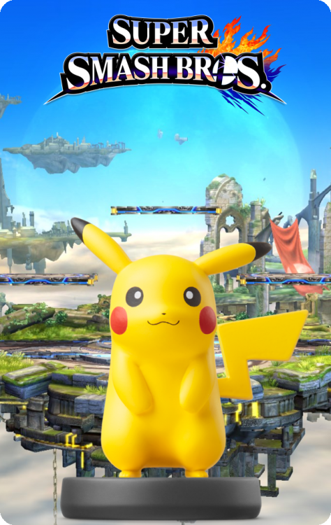 10 - Super Smash Bros - Pikachu.png
