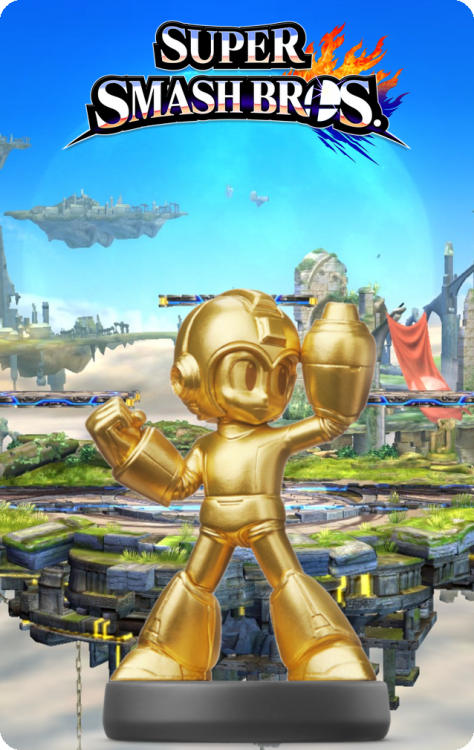 27 - Super Smash Bros - Mega Man Gold.png