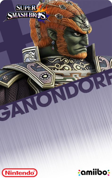 41 - Super Smash Bros - GanondorfBack.png