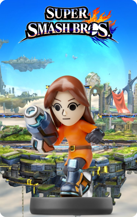 50 - Super Smash Bros - Mii Gunner.png