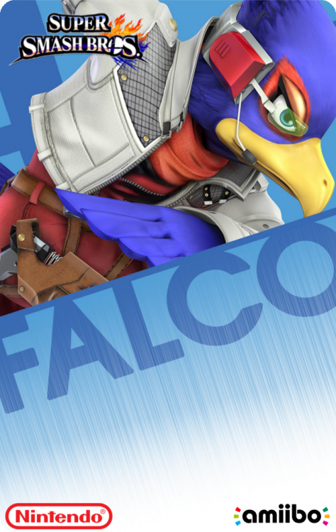 52 - Super Smash Bros - FalcoBack.png