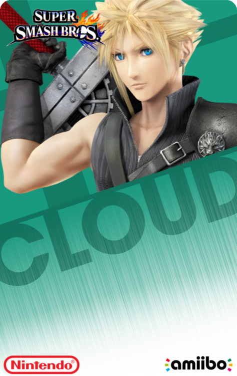 58 - Super Smash Bros - Cloud P2Back.png