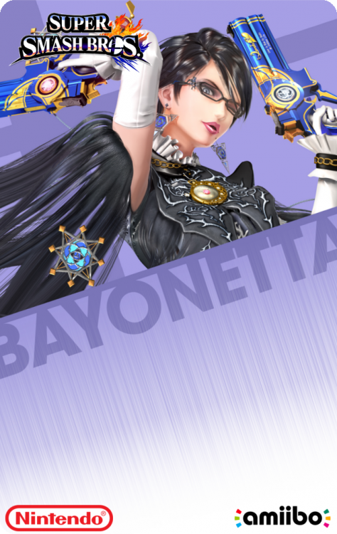 61 - Super Smash Bros - BayonettaBack.png