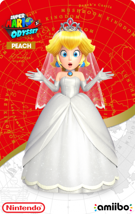 Super Mario Odyssey - Peach WeddingBack.png