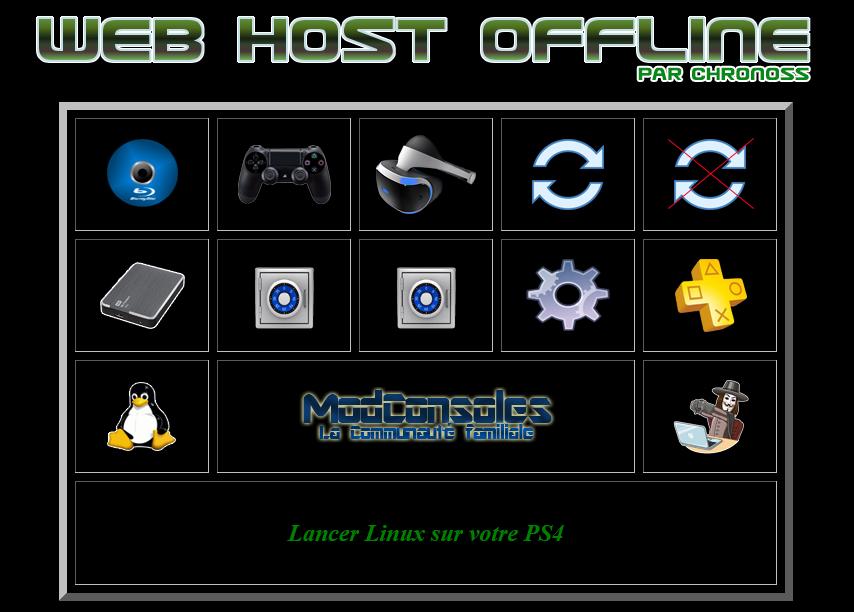 [EXCLU] Web Host Offline v2.0 : utilisez votre PS4 sans internet