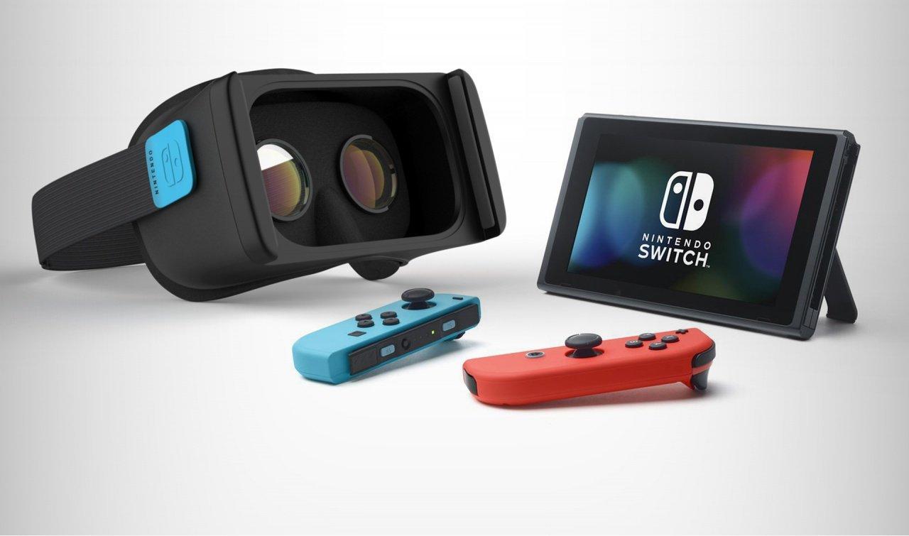 VR Menu caché de la Switch enfin découvert