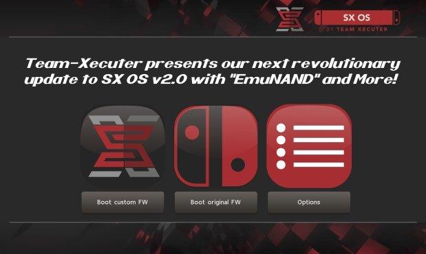 Team-Xecuter libère la v2.0 avec l'EmuNAND sur la Switch