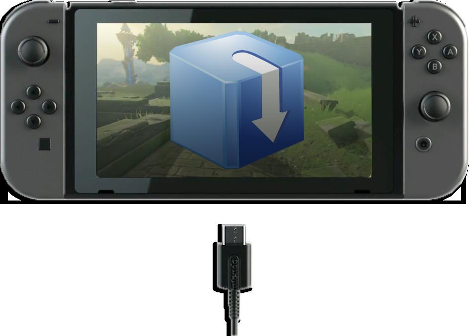 Installer un jeu .NSP en USB avec Tinfoil