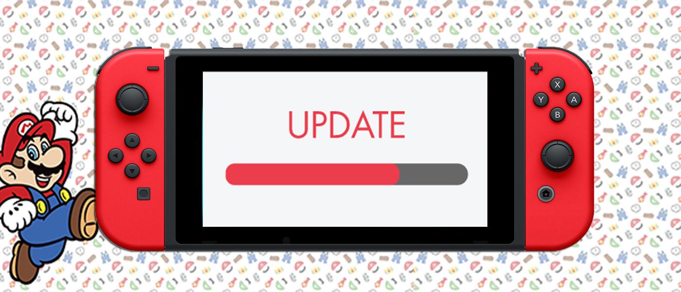 Nintendo sort la mise à jour 6.2.0 de la Nintendo Switch