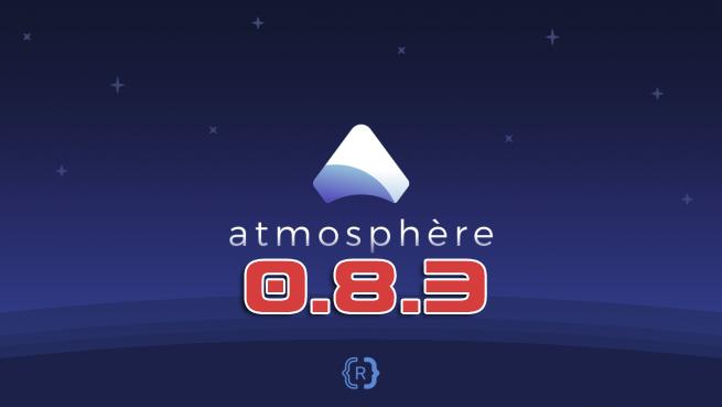 Atmosphère 0.8.3 disponible avec support du reboot_payload