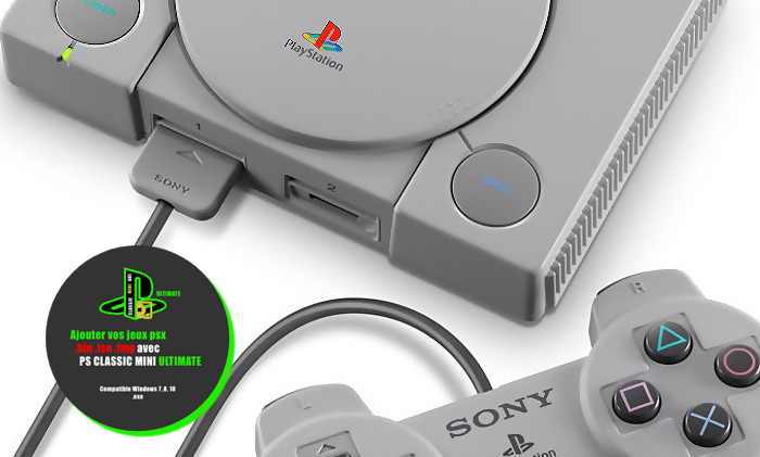 PS CLASSIC MINI UTIMATE v2 disponible