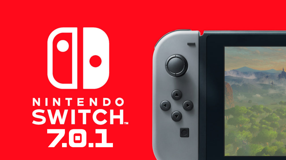 7.0.1 de la Switch disponible