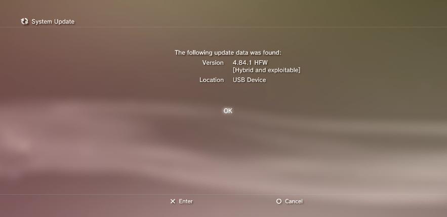 PS3 4.84.2 HFW (Hybrid Firmware)  compatible HAN (MAJ)