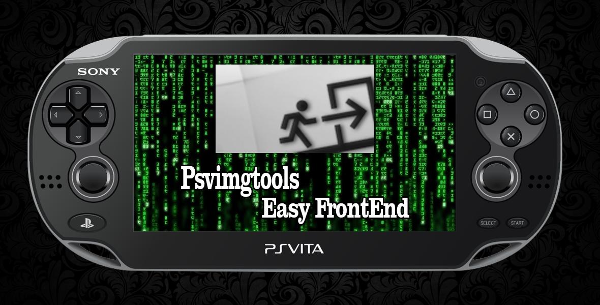 Psvimgtools Easy FrontEnd 1.8.5 avec support de Trinity