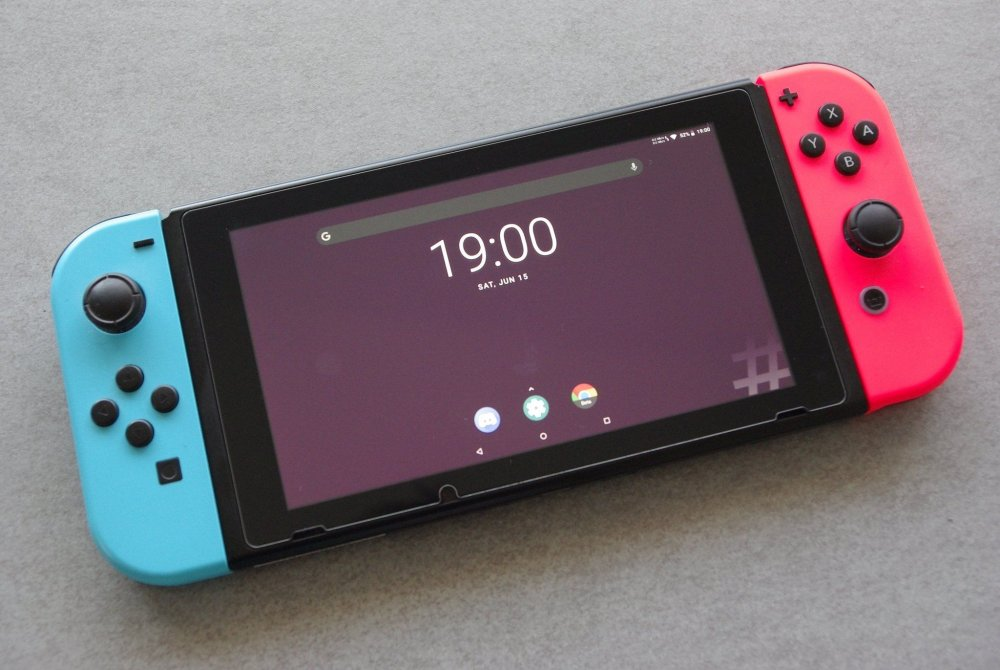 Mise en place de Android sur la Switch