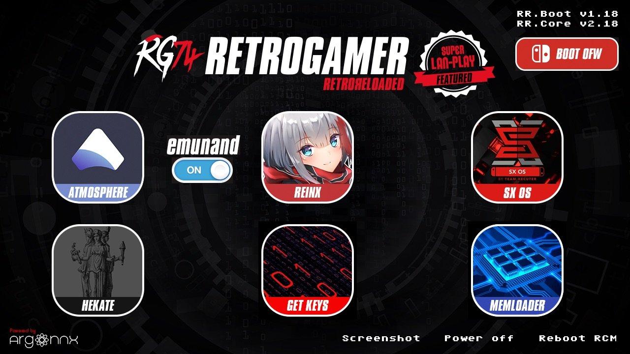 RetroGamer74 publie RetroReloaded 2.34 et RetroPack