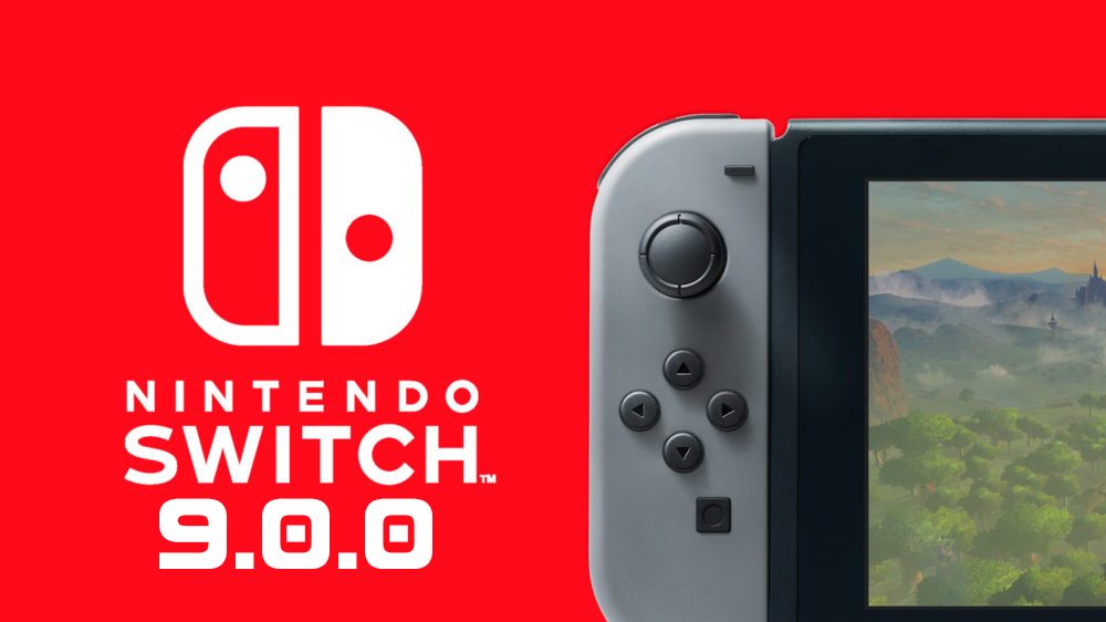 La mise à jour de Nintendo Switch 9.0.0 enfin disponible