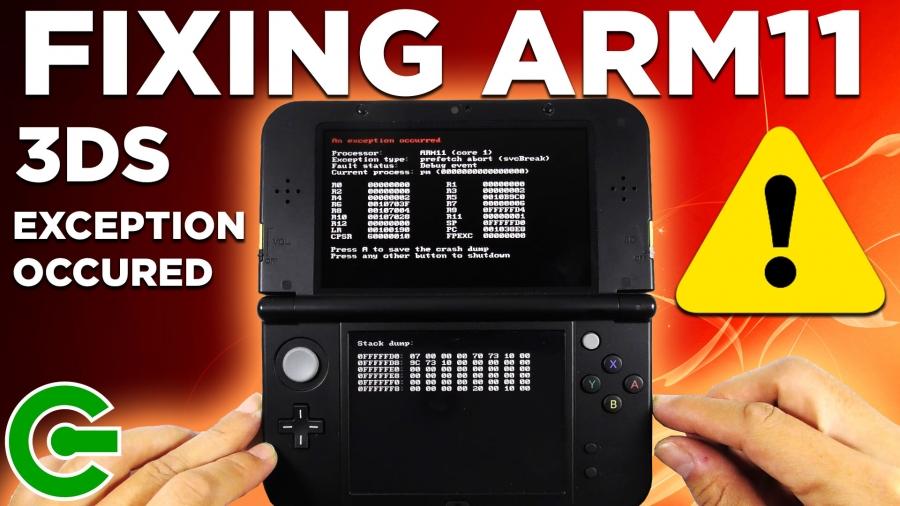 Fixé l'erreur ARM11 des 3DS