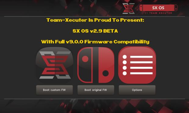 SX OS 2.9b disponible pour firmware 9.0 (MAJ)