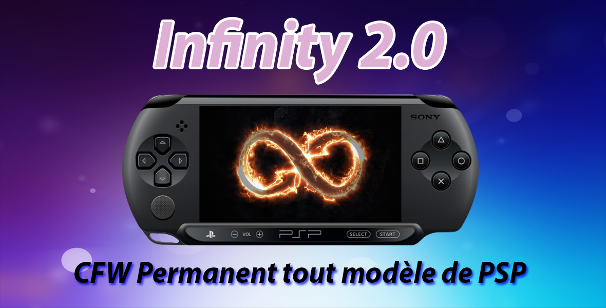 Davee libère Infinity 2 pour tout modèle PSP en 6.60/6.61