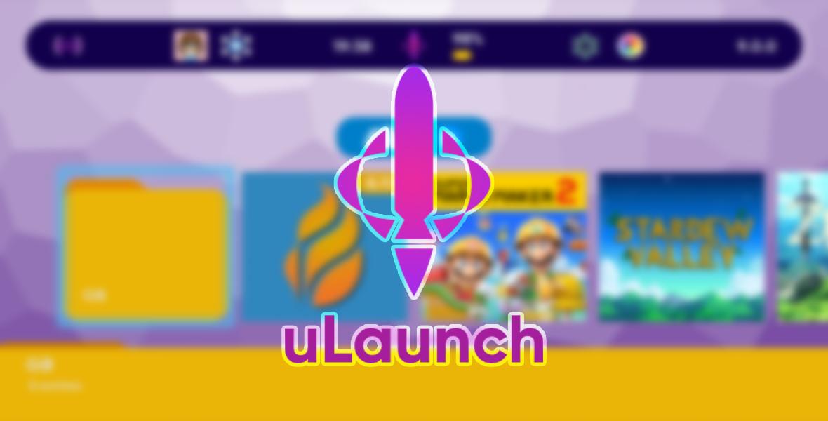 uLaunch passe en v0.2 avec le support du Bluetooth
