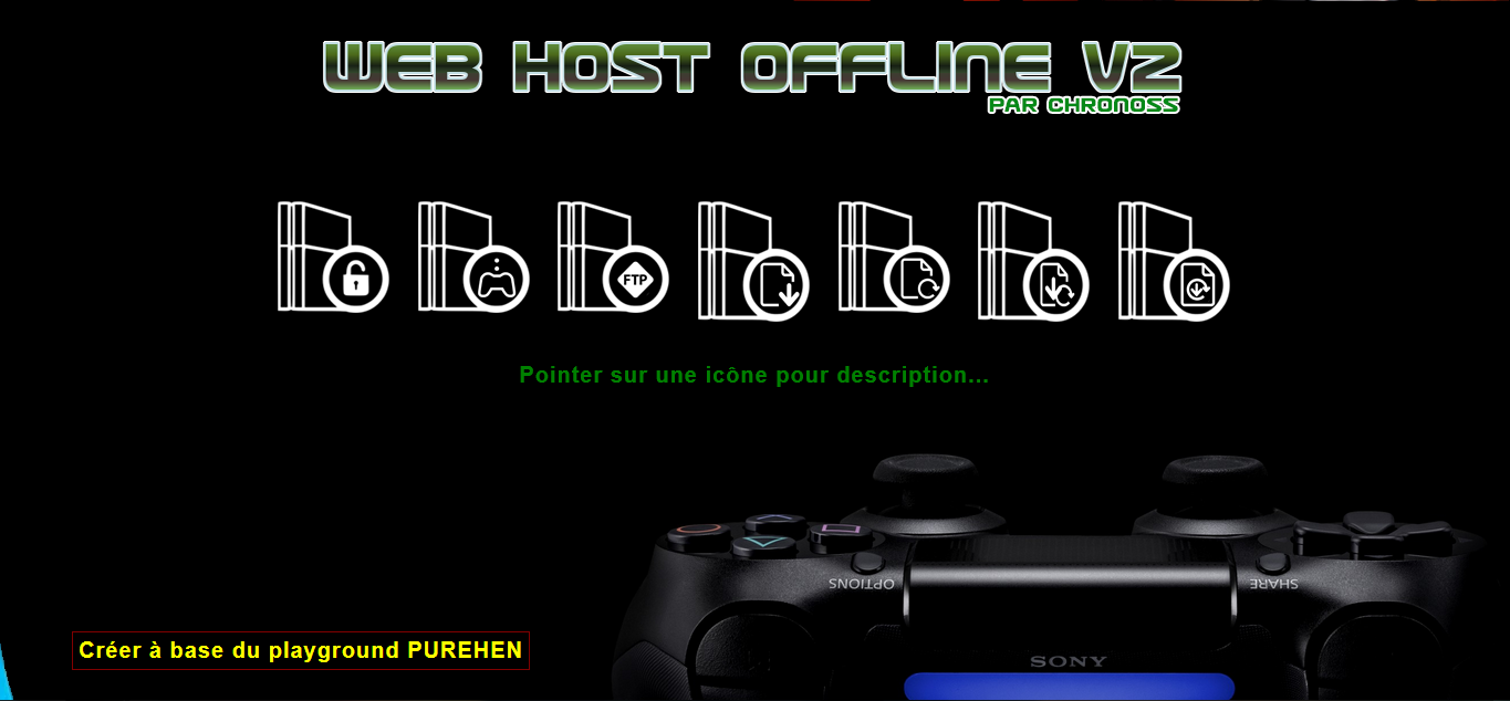 [EXCLU] Web Host Offline v2 Playgound enfin disponible