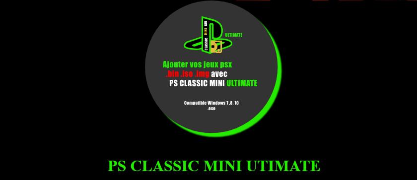 PS Classic Mini Ultimate v2.9a