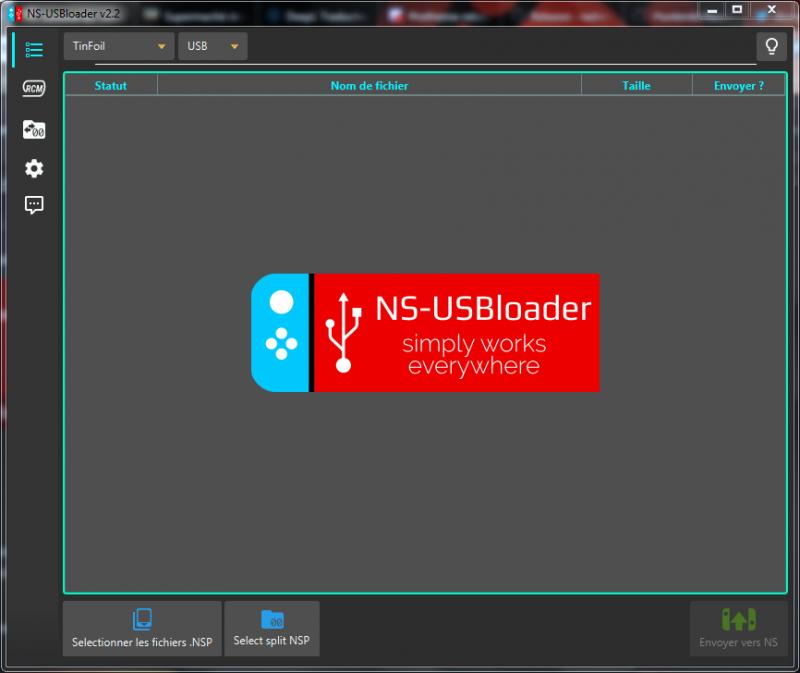 Installer un NSP/XCI/SXCI/NSZ via USB depuis un PC (MAJ #1)