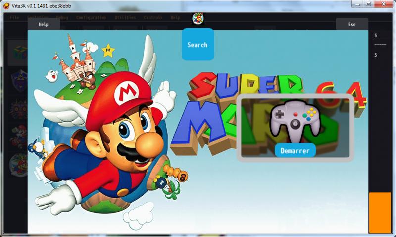 Créer une bulle pour les jeux Nintendo 64